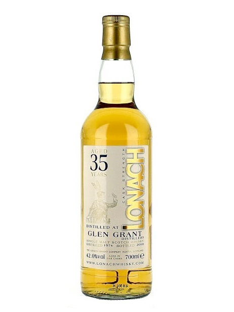 GLEN GRANT 35 YEAR 1974 - 2009 LONAK  SINGLE MALT