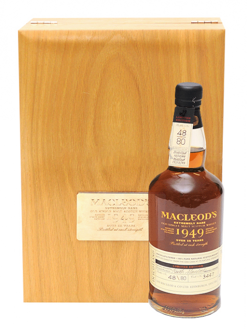 GLEN GRANT 50 YEAR 1949 SINGLE MALT