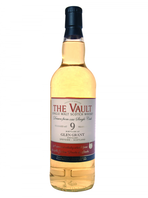 GLEN GRANT  9 YEAR 2004 - 2013 VAULT  SINGLE MALT