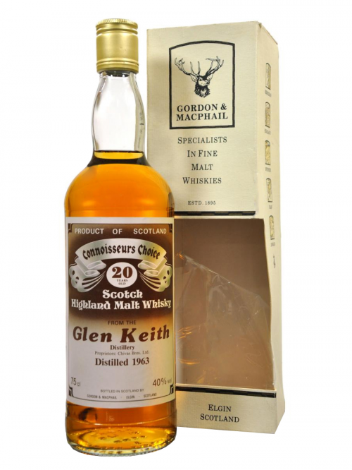 Glen Keith 20 Year Old 1963 Gordon & MacPhail