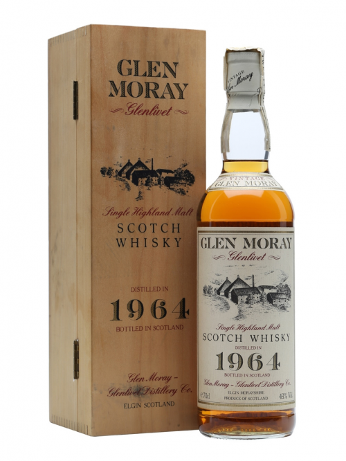 GLEN MORAY 27 YEAR OLD 1964 GLENLIVET