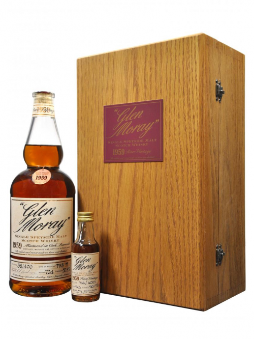 GLEN MORAY 40 YEAR OLD 1959 GLENLIVET