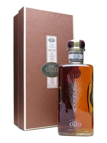 GLEN ORD 25 YEAR OLD 1978 - 2004 LIMITED EDITION