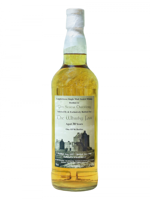 Glen Scotia 30 Year Old 1975–2006 The Whisky Fair