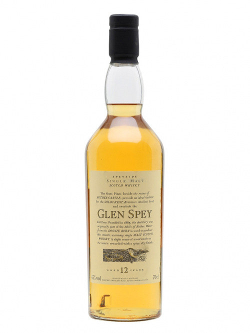 GLEN SPEY 12 YEARS FLORA & FAUNA single malt