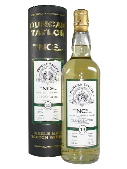 GLENALLACHIE 13 YEARS 1995-2008 NC2 single malt