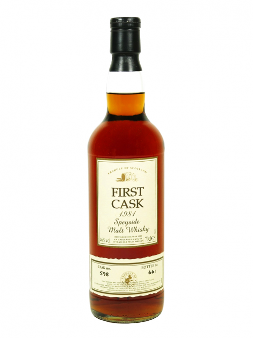 Glenallachie 22 Year Old 1981 First Cask