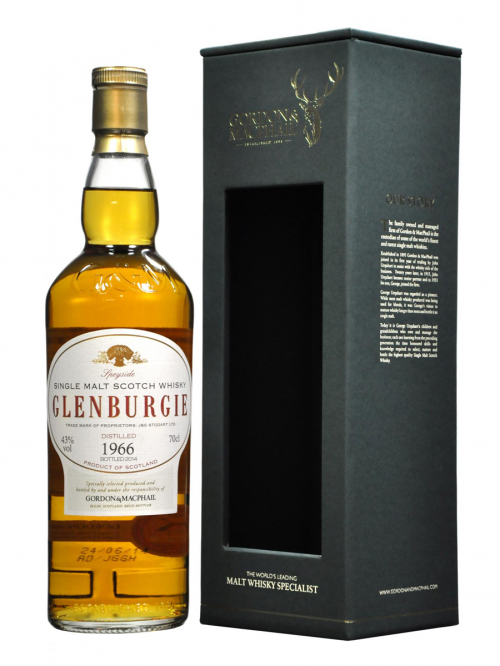 GLENBURGIE 24 YEAR OLD 1966 GORDON & MACPHAIL
