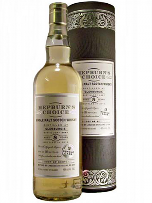 GLENBURGIE 8 YEARS HEPBURN'S CHOICE single malt