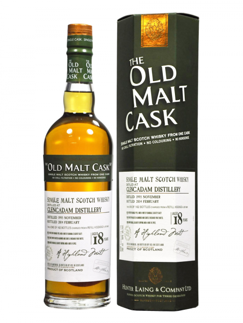 GLENCADAM 18 YEAR 1989 OLD MALT CASK SINGLE MALT