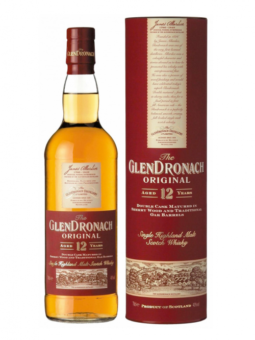 GLENDRONACH 12 YEARS ORIGINAL single malt
