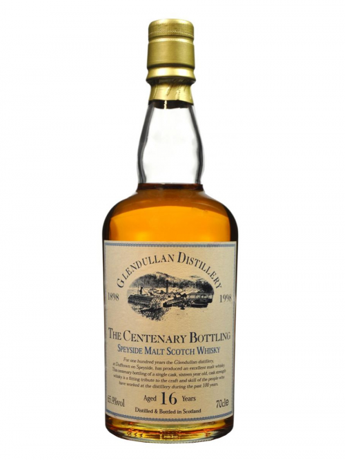 GLENDULLAN 16 YEARS 1998 CENTENARY BOTTLING single malt