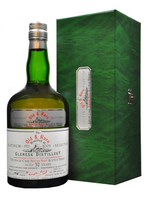 GLENESK 32 YEARS 1971-2003 OLD & RARE single malt