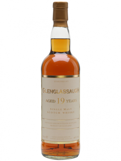 GLENGLASSAUGH 19 YEARS single malt