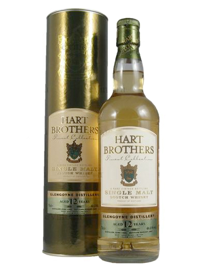 GLENGOYNE 12 YEAR 1995 - 2007 HART BROTHERS  SINGLE MALT