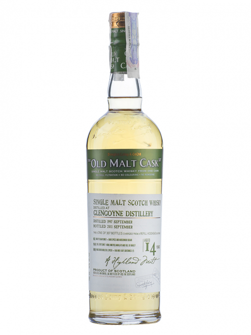 GLENGOYNE 14 YEAR 1997 - 2011 OLD MALT CASK  SINGLE MALT
