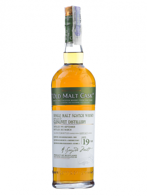GLENLIVET 19 YEAR 1992 OLD MALT CASK SINGLE MALT