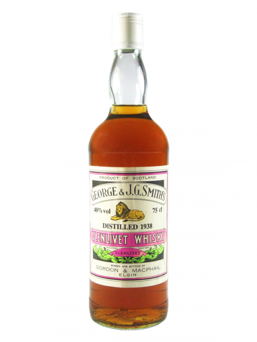 GLENLIVET 1938 GEORGE & J.G. SMITH'S single malt