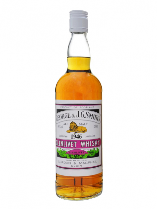 GLENLIVET 1946 GEORGE & J.G. SMITH'S single malt