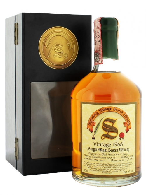 GLENLIVET 20 YEARS 1968 SIGNATORY single malt