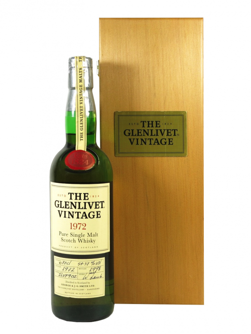 GLENLIVET 26 YEAR OLD VINTAGE 1972 - 1998 GEORGE & J.G.SMITH LTD
