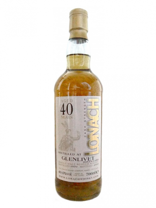 GLENLIVET 40 YEAR 1970 LONAK SINGLE MALT