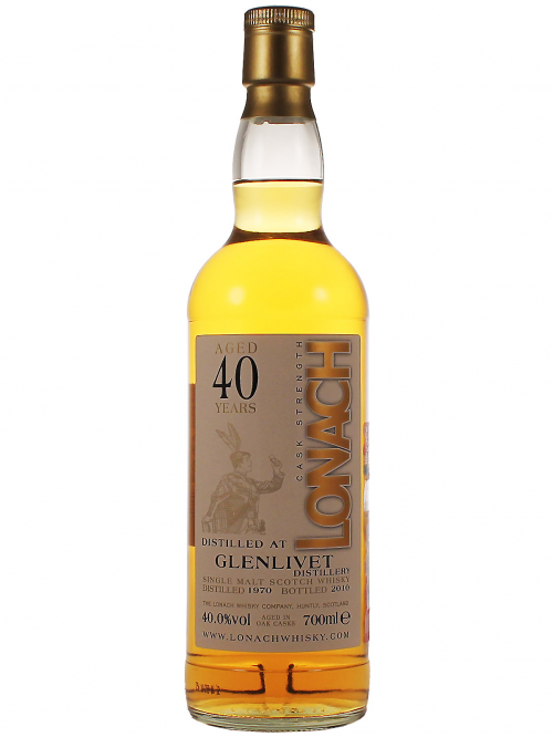 GLENLIVET 40 YEARS 1970-2010 LONACH single malt