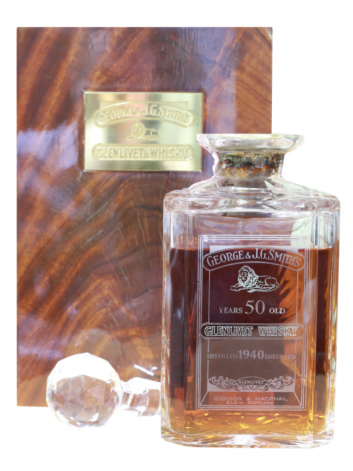 GLENLIVET GEORGE & J.G. SMITH'S 50 YEAR OLD 1940