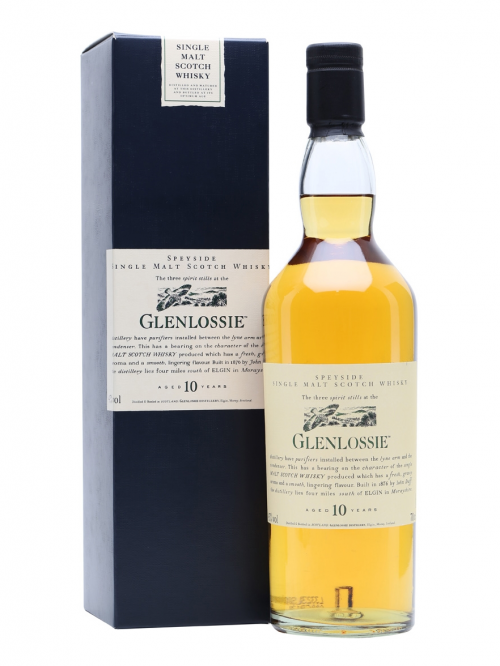 GLENLOSSIE 10 YEAR FLORA&FAUNA   SINGLE MALT
