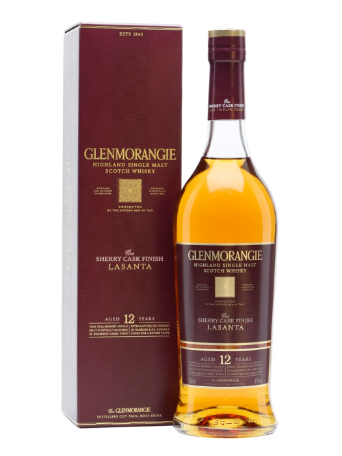 GLENMORANGIE 12 YEARS LASANTA single malt
