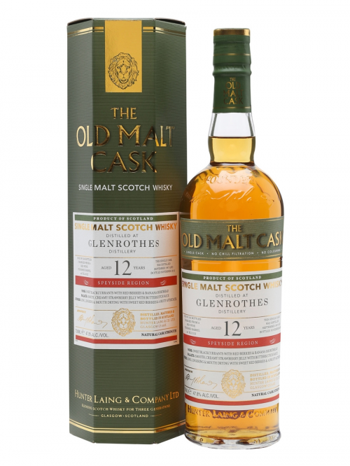 GLENROTHES 12 YEAR 1996 - 2008 OLD MALT CASK  SINGLE MALT