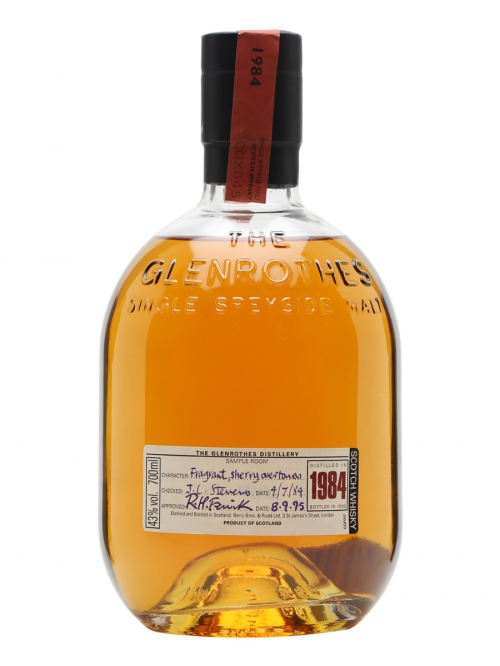 GLENROTHES 21 YEAR OLD 1984 - 1995