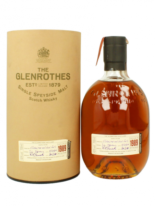 GLENROTHES 11 YEAR OLD 1989 - 2000