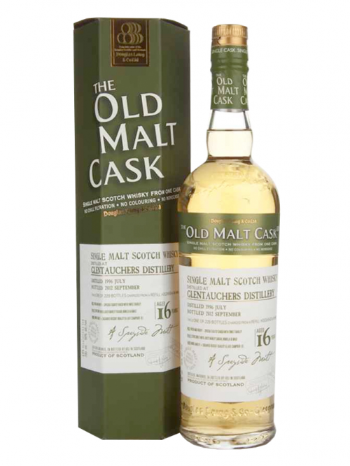 GLENTAUCHERS 16 YEARS 1996-2012 OMC single malt