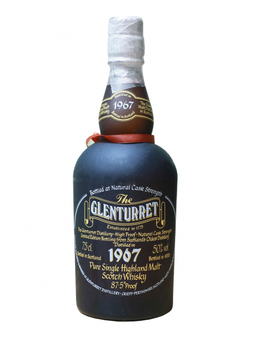 GLENTURRET 21 YEAR OLD 1967 - 1988 CASK STRENGHT