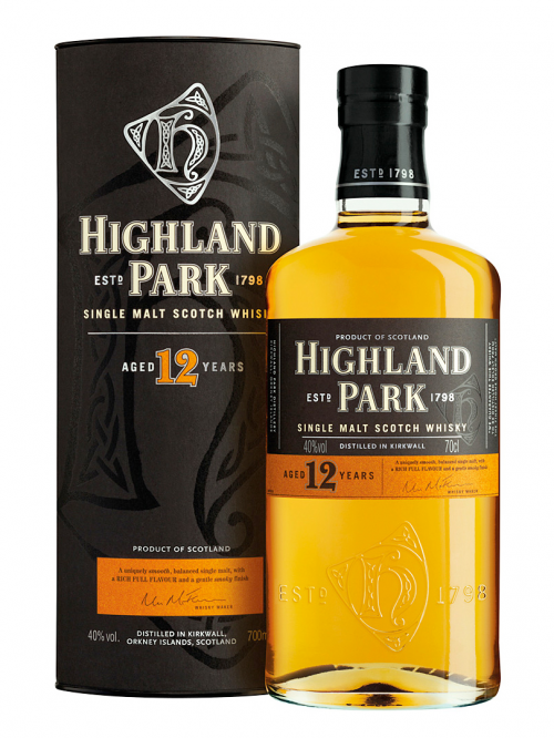 HIGHLAND PARK 12 YEARS VIKING HONOUR single malt