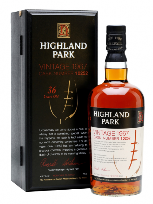 Highland Park 36 Year Old 1967