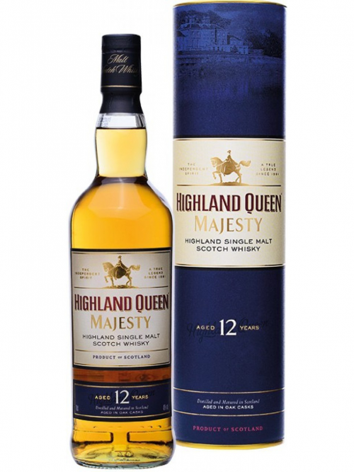 HIGHLAND QUEEN MAJESTY 12 YEARS single malt