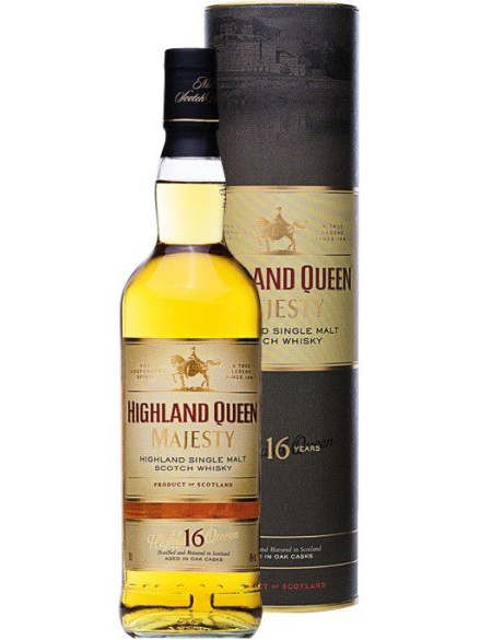HIGHLAND QUEEN MAJESTY 16 YEARS single malt