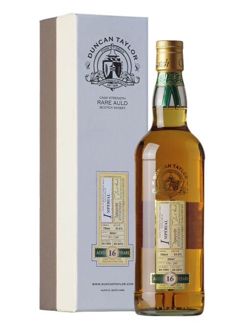 IMPERIAL 16 YEARS 1995-1012 DIMENSIONS single malt