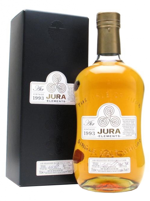 ISLE OF JURA  ELEMENTS 1993 - 2008 AIR VINTAGE