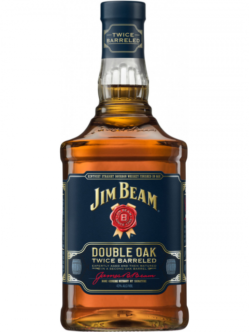 JIM BEAM DOUBLE OAK bourbon