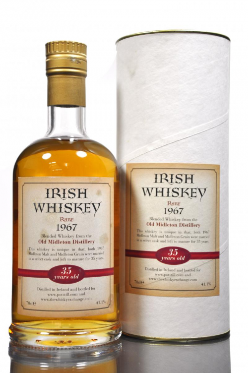 OLD MIDLETON 35 YEAR OLD 1967 IRISH  WHISKEY