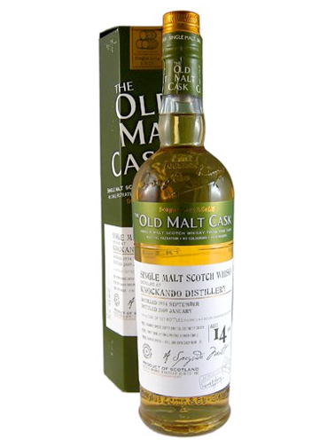 KNOCKANDO 14 YEAR 1994 - 2008 OLD MALT CASK  SINGLE MALT