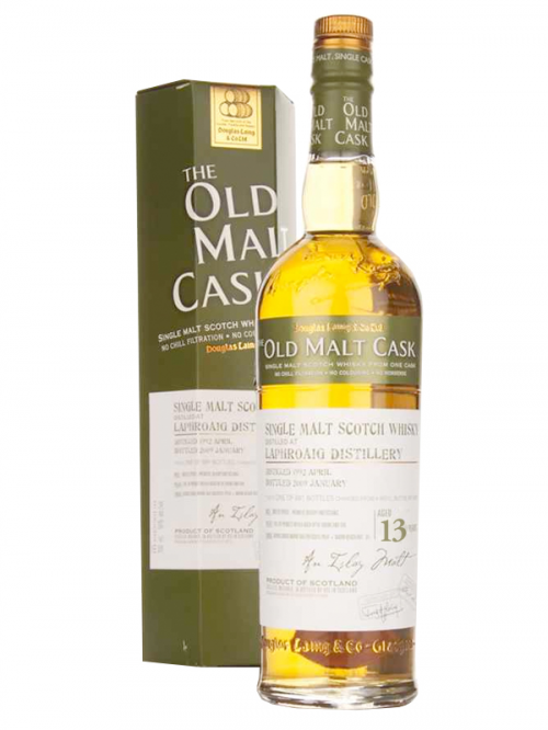 LAPHROAIG 13 YEAR 1996 - 2009 OLD MALT CASK  SINGLE MALT