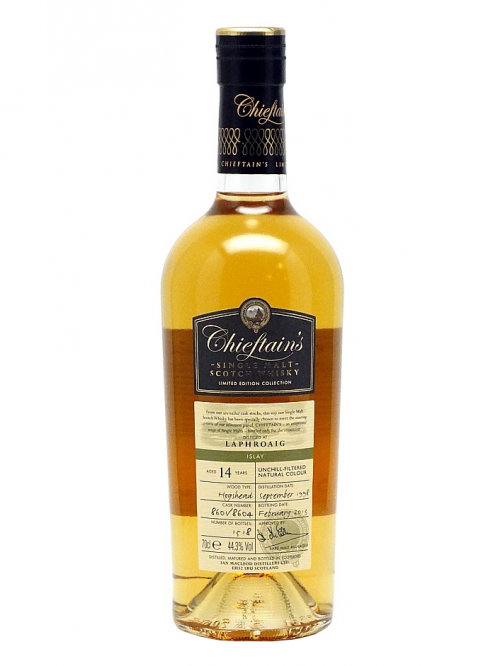 LAPHROAIG 14 YEARS 1998-2013 CHIEFTAIN'S single malt