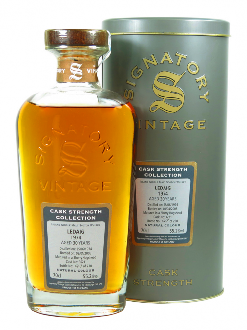 LEDAIG 30 YEAR OLD 1974 - 2005 CASK STRENGTH COLLECTION