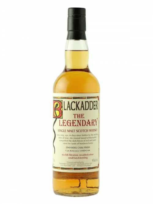 LEGENDARY  BLACKADDER SINGLE MALT