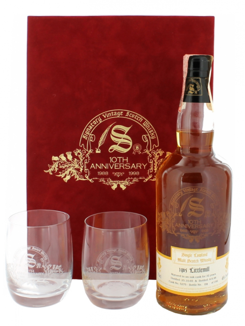 Littlemill 32 Year Old 1965–1998 Signatory Vintage