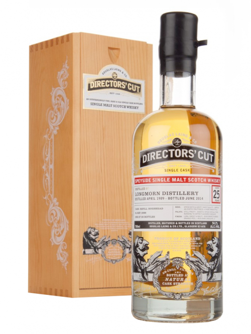 LONGMORN 25 YEAR  1989 - 2014 DIRECTORS CUT SINGLE MALT